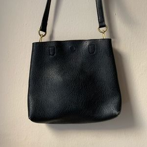 Urban Outfitters Black & Brown Reversible Purse